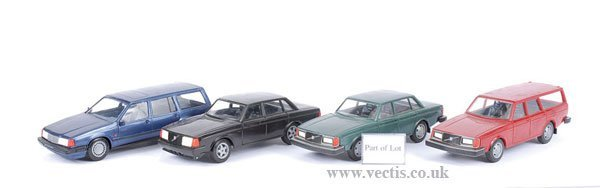 5: Large Scale Plastic Volvo Models