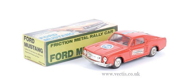 20: Tinplate Friction Drive Ford Mustang