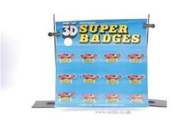 687: Model Toys 3D Starsky & Hutch Super Badges