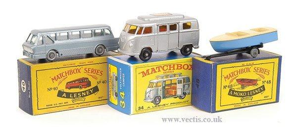 1012: Matchbox No.34c VW Transporter Camper & Others