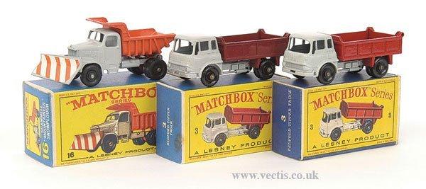 1014: Matchbox No.3b Bedford Tipper & Others