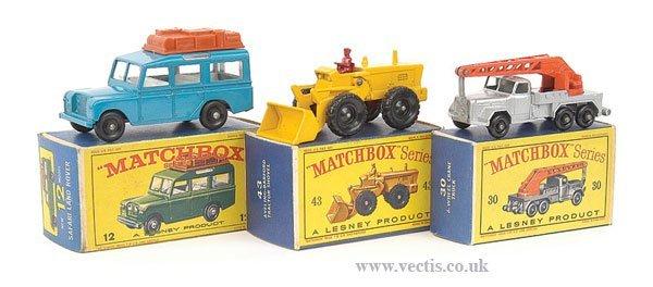 1016: Matchbox No.12c Land Rover Safari & Others