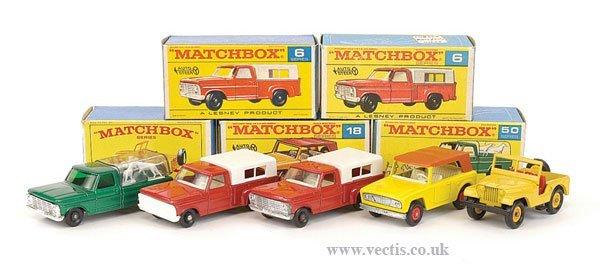 1024: Matchbox Regular Wheels Light Commercials
