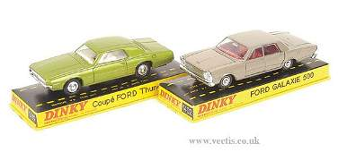 1349: French Dinky No.1402 Ford Galaxie & Others