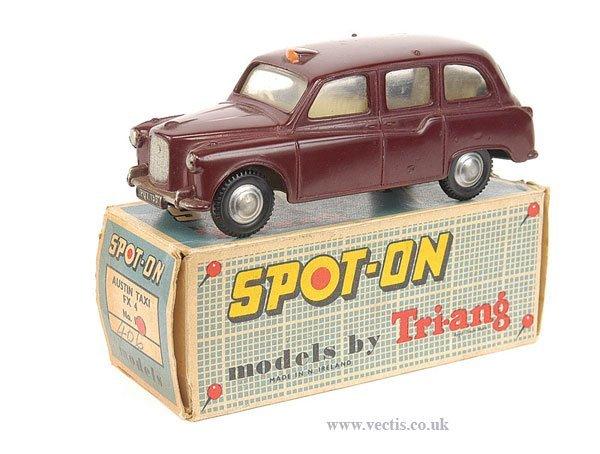 1462: Spot-On No.155 Austin FX4 Taxi