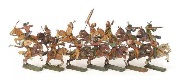 2333: Elastolin,Lineol & similar-Wild West-7cm Indians