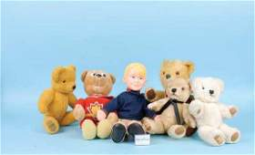 3107: Collection of Teddy Bears, 1970s/80s