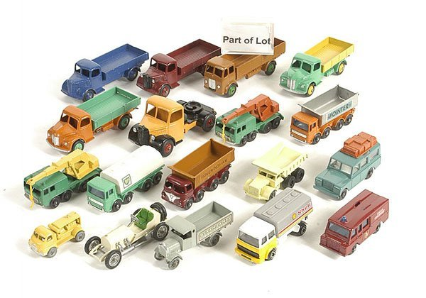 3667: Matchbox 1-75 & Other Repainted Models