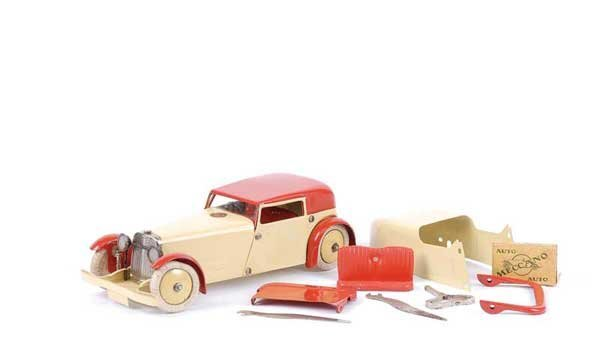 4007: Meccano No.1 Constructor Car