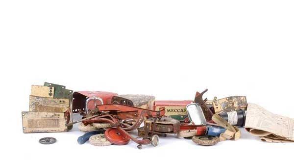 4022: Meccano No.2 Constructor Car Components