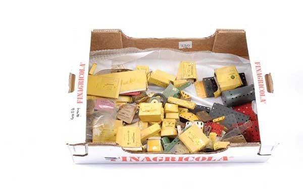 4024: Meccano - A Quantity of Parts