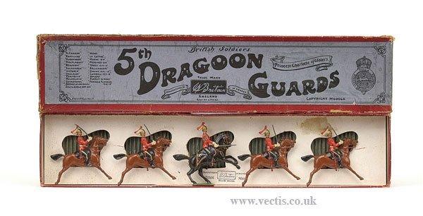 3: Britains - Set 3 - 5th Dragoon Guards