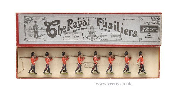 4: Britains - Set 7 - The Royal Fusiliers