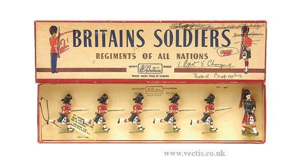 7: Britains - Set 11 - The Black Watch