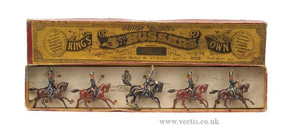9: Britains - Set 13 - Kings 3rd Hussars