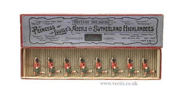 10: Britains-Set15-Argyle & Sutherland Highlanders