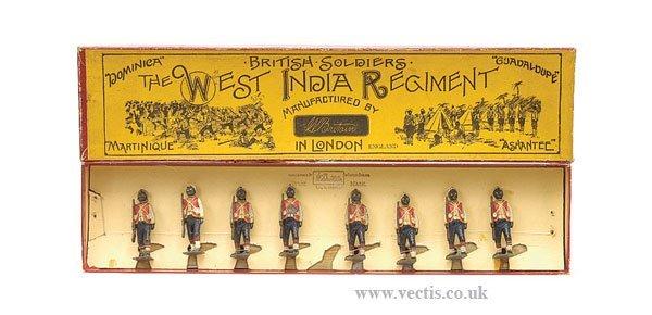 12: Britains - Set 19 - West India Regiment