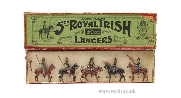 13: Britains - Set 23 - 5th Royal Irish Lancers