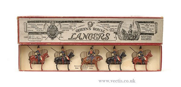 14: Britains - Set 24 - 9th Lancers
