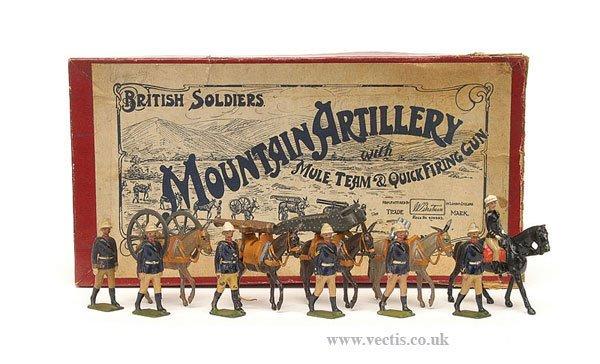16: Britains - Set 28 - Mountain Artillery