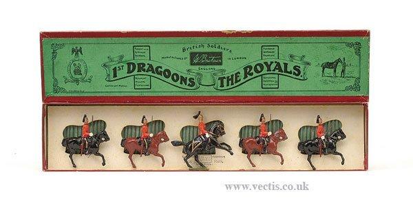 19: Britains - Set 31 - 1st Dragoons