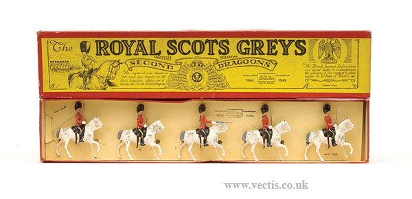 21: Britains - Set 32 - Royal Scots Greys