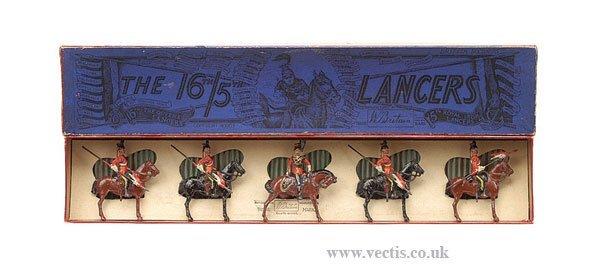22: Britains - Set 33 - 16th/5th Lancers