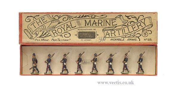 24: Britains - Set 35 - The Royal Marine Artillery