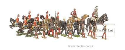 401 Britains  From various Infantry Sets