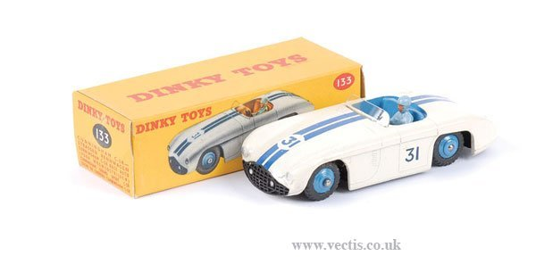 1017: Dinky No.133 Cunningham Road Racer