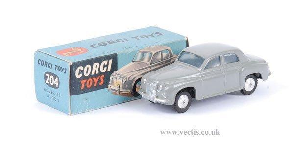 2001: Corgi No.204 Rover 90 Saloon