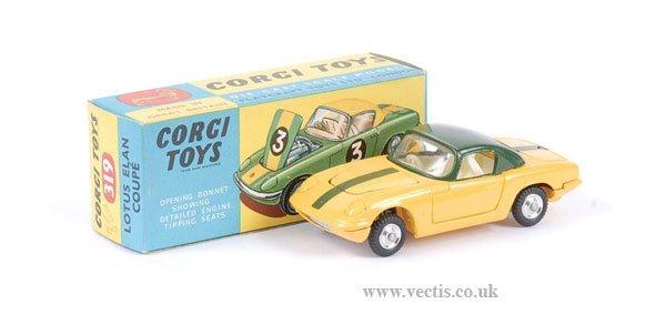 2008: Corgi No.319 Lotus Elan Coupe