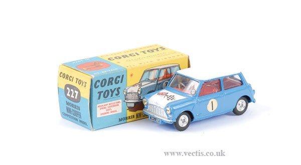 "2013: Corgi No.227 Morris Mini Cooper ""Competition"""