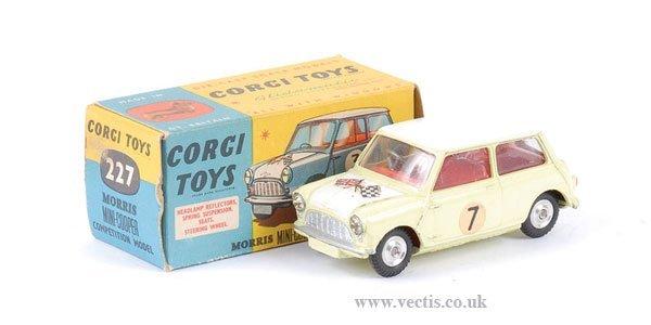 "2014: Corgi No.227 Morris Mini Cooper ""Competition"""