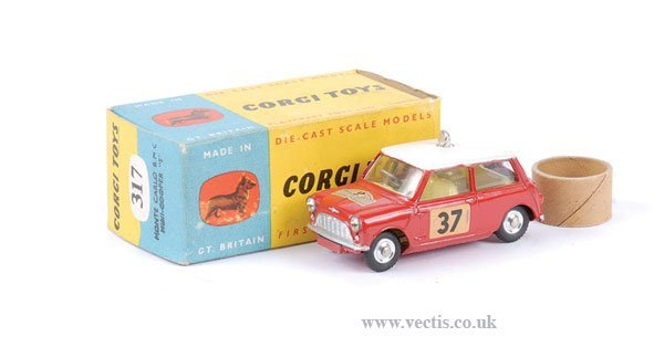 """2015: Corgi No.317 Morris Mini Cooper """"Monte Carlo"""""""