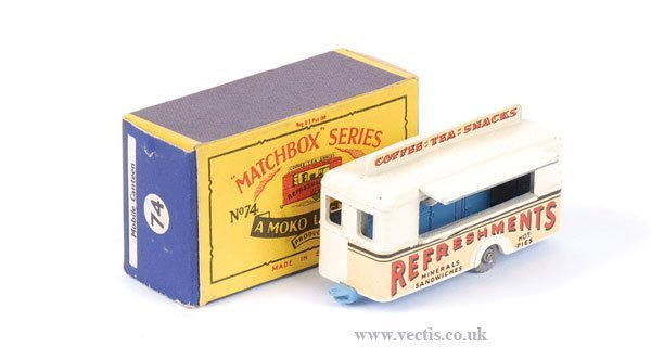 "2263: Matchbox No.74a Mobile ""Refreshment"" Canteen"