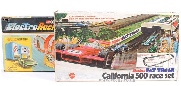 2701: Hot Wheels Sizzlers California 500 Race Set