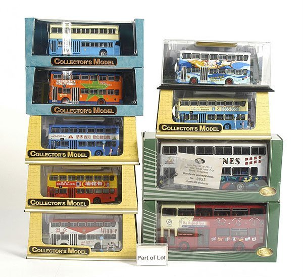 3003: C'SM Collectors Models - A Group of Buses