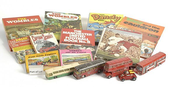 3007: Unboxed Diecast, Children's Annuals and Games