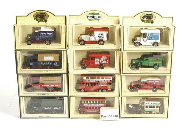 3023: Lledo Days Gone Buses and Delivery Vans