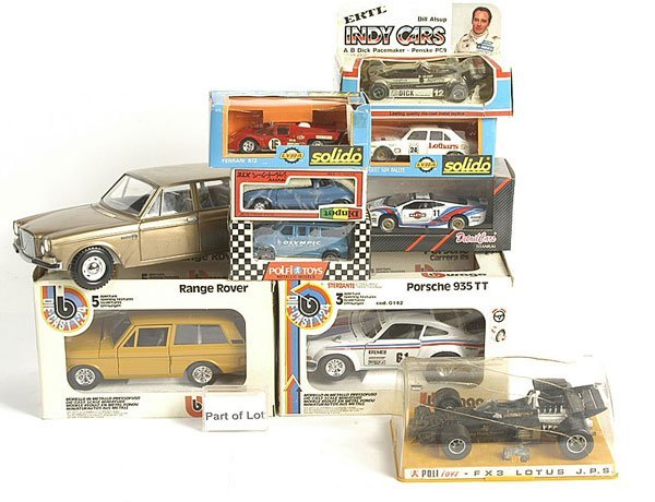 3075: Diapet, Solido and & Other Diecast Cars