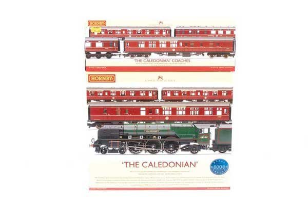 """4002: Hornby R2306 """"The Caledonian"""" Train Pack"""