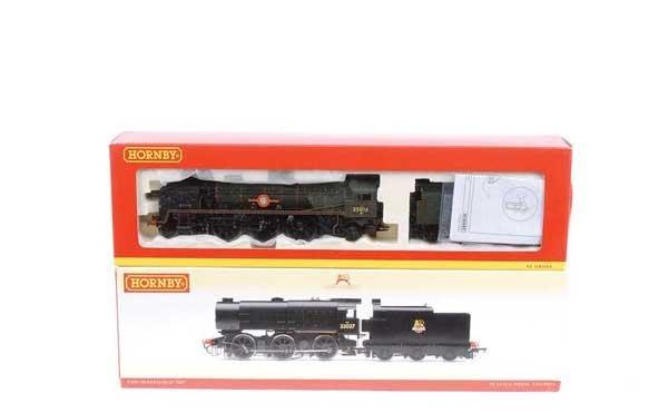 4013: Hornby (China) - 2 x BR (SR) Steam Locos
