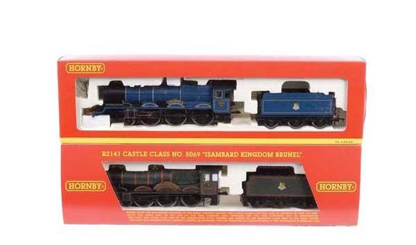 4018: Hornby - 2 x 4-6-0 BR (WR) Steam Locos