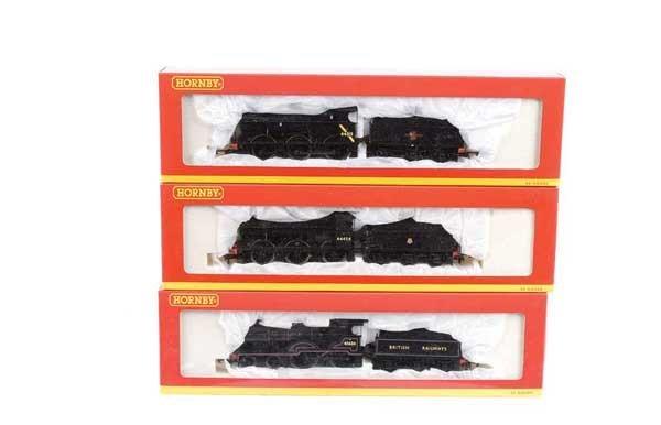 4022: Hornby (China) - A Trio of BR Black Steam Locos