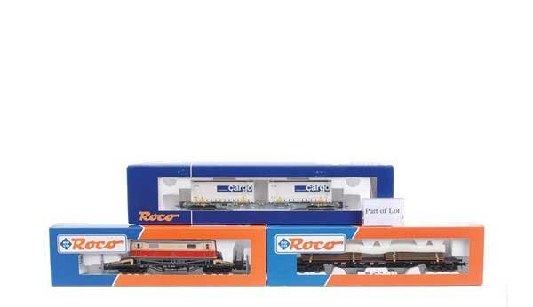 4278: Roco - A Group of Bogie Goods Vehicles