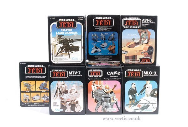 6: Kenner/General Mills/Palitoy ROTJ Vehicles