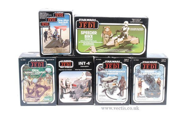 7: Kenner/General Mills/Palitoy ROTJ Vehicles