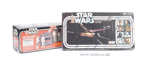 10: Palitoy Star Wars Troop Transporter & Others