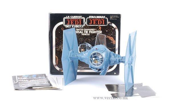 11: General Mills Palitoy Star Wars ROTJ Tie Fighter
